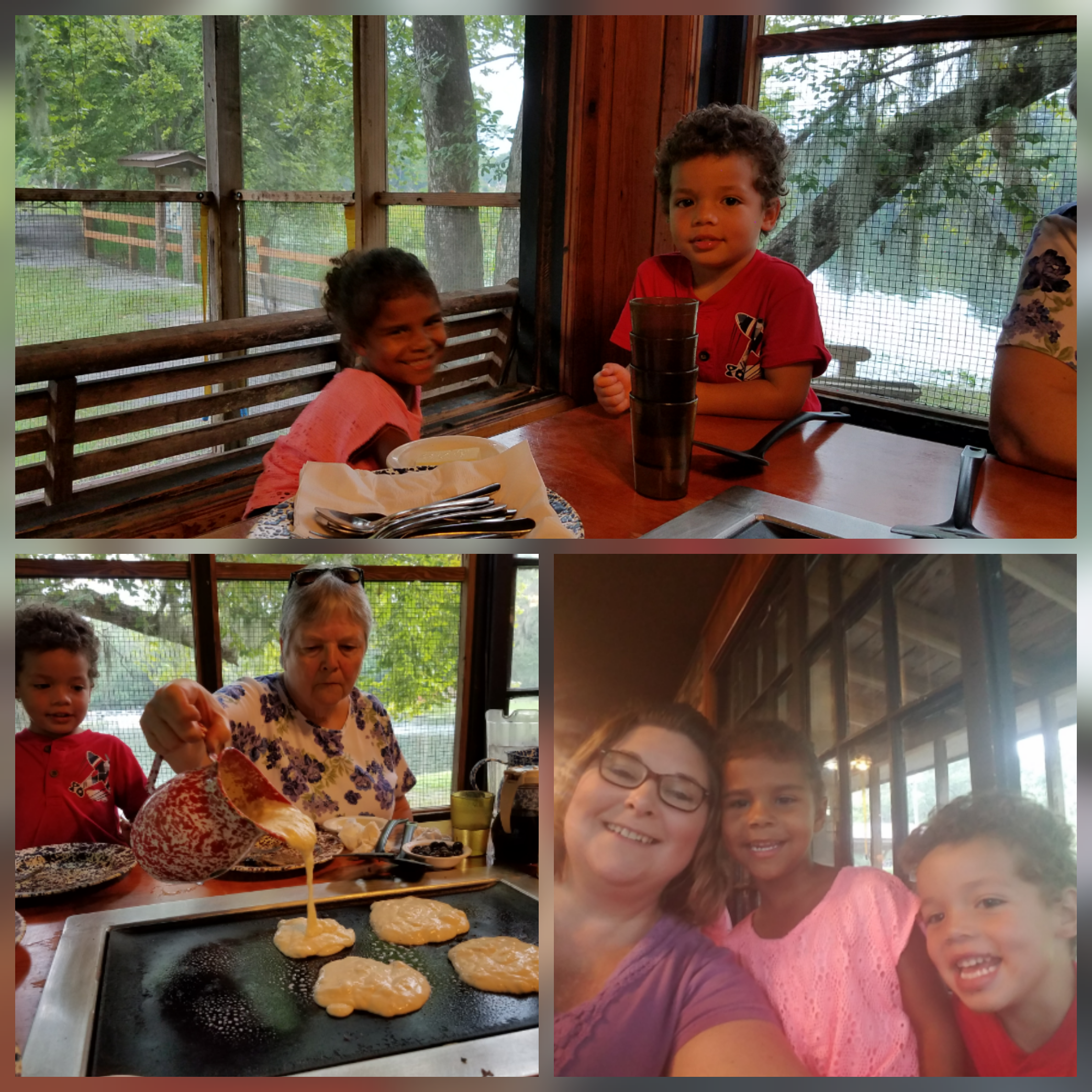 Pancakes at Old Spanish Sugar Mill Restaurant