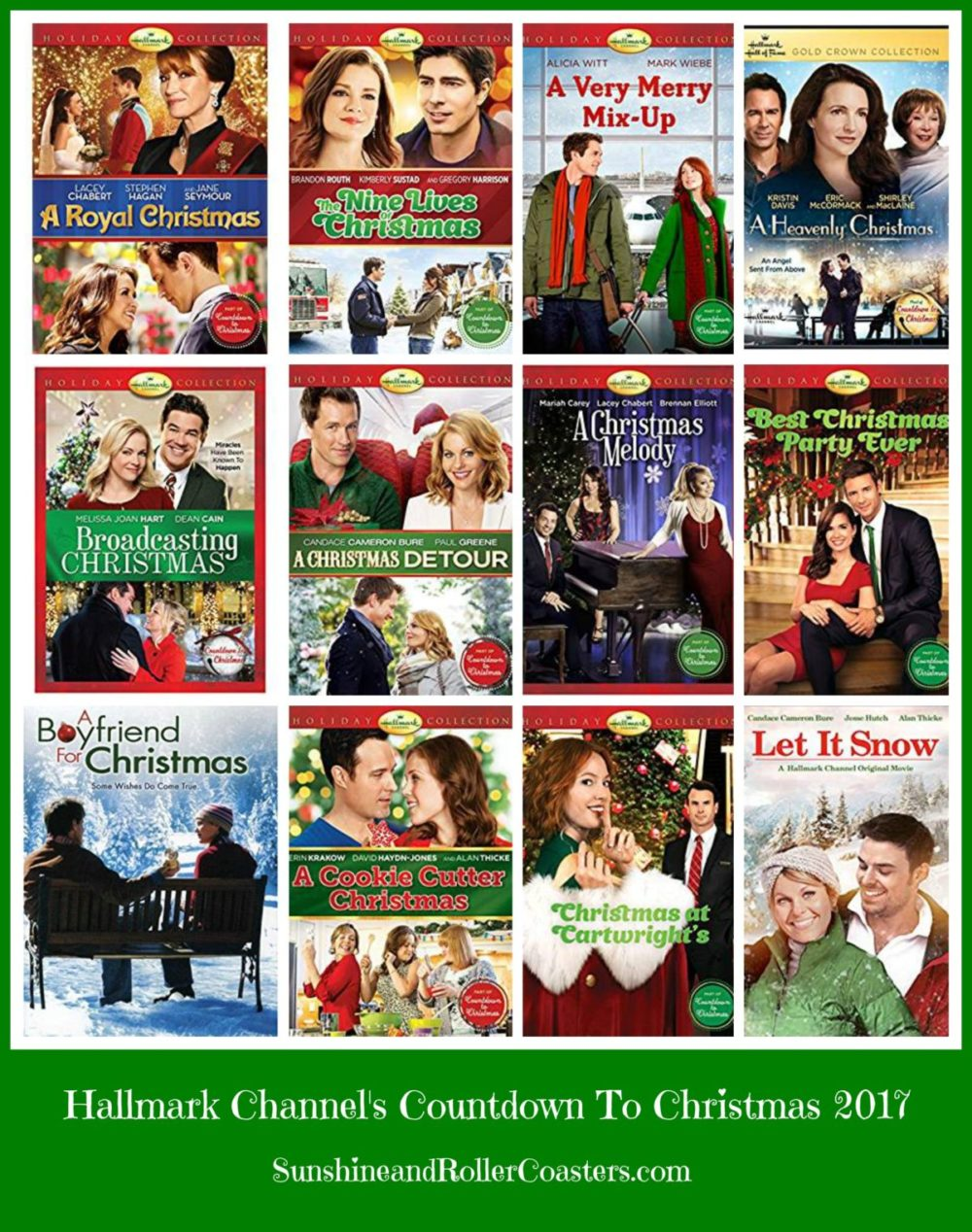 hallmark channels countdown to christmas is in full swing and my channel hasnt hardly moved since it began i hope you are are this great list of - Hallmark Christmas Movie List